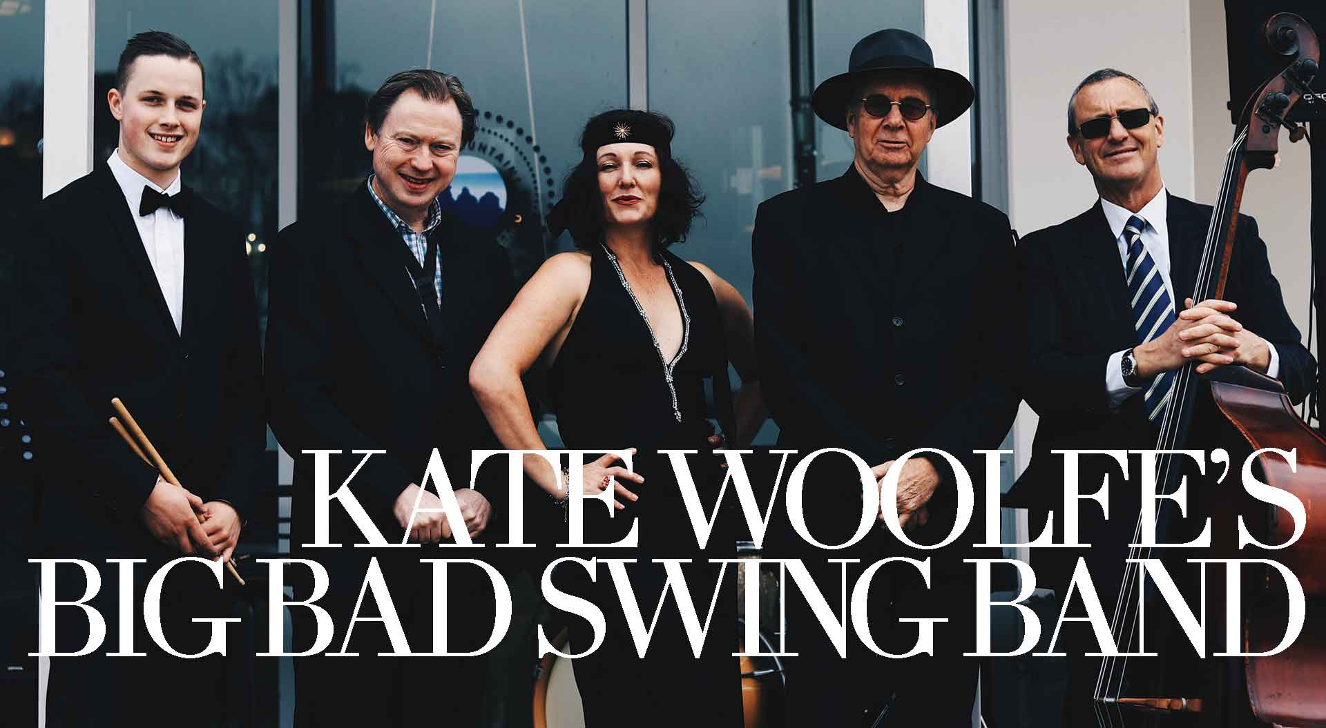 Kate Woolfe's Big Bad Swing Band | Swingin' at The Club