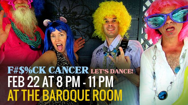 F#$%ck Cancer LET'S Dance! at Baroque Room Katoomba