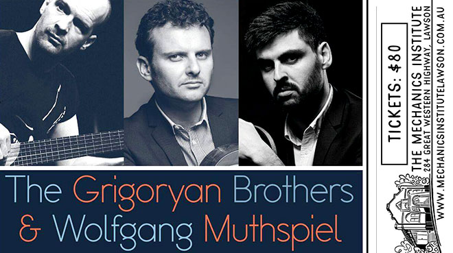 Grigoryan Brothers & Wolfgang Muthspiel