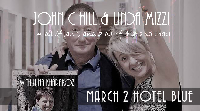 John C Hill & Linda Mizzi with Nina Kharakoz