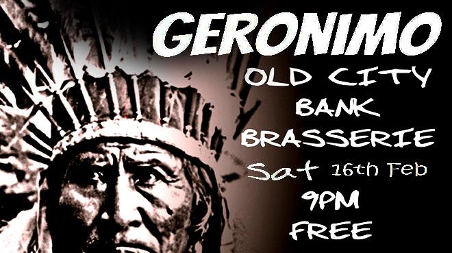 Geronimo Play the Old City Bank