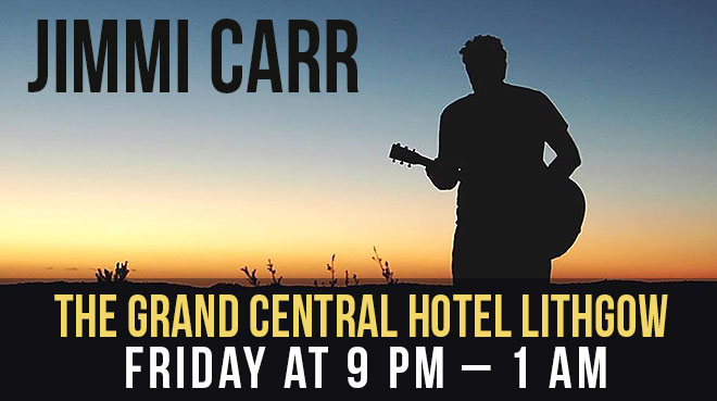 Jimmi Carr at Lithgow Tin Shed