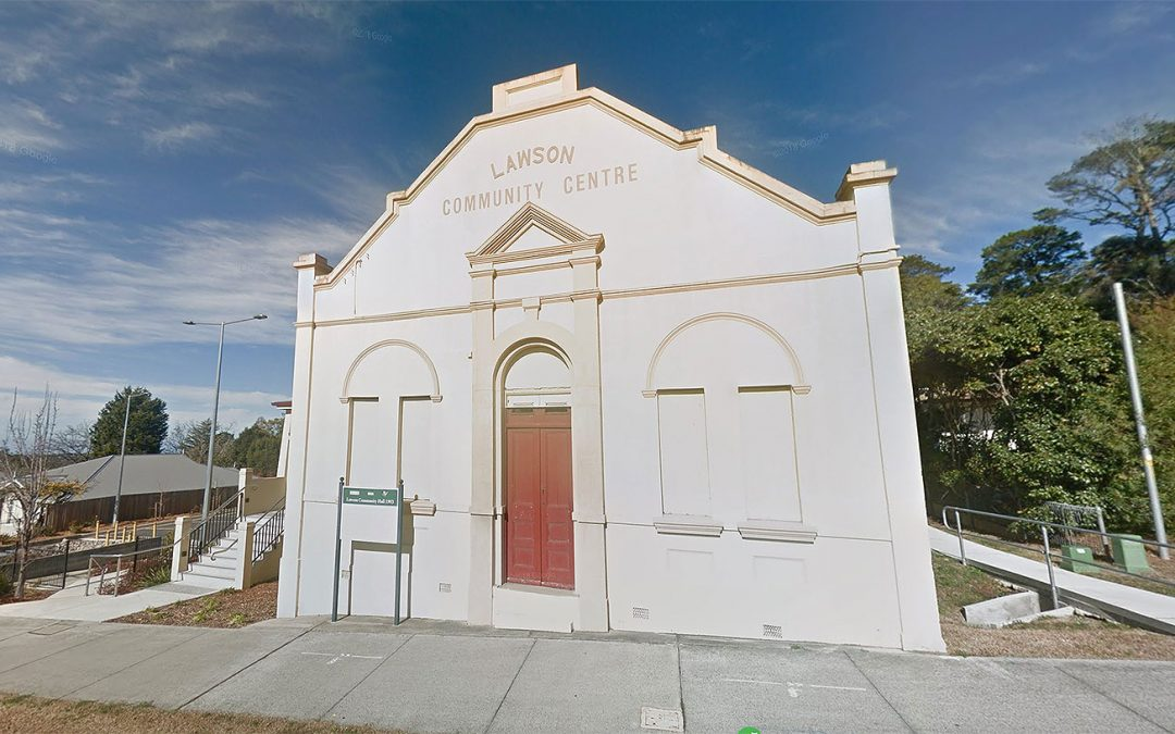 Lawson Community Centre (Mechanics Institute)