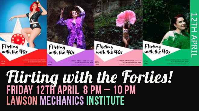 Flirting with the Forties! | A 1940s Vintage Cabaret