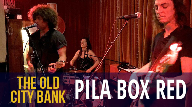 Pila Box Red | The Old City bank