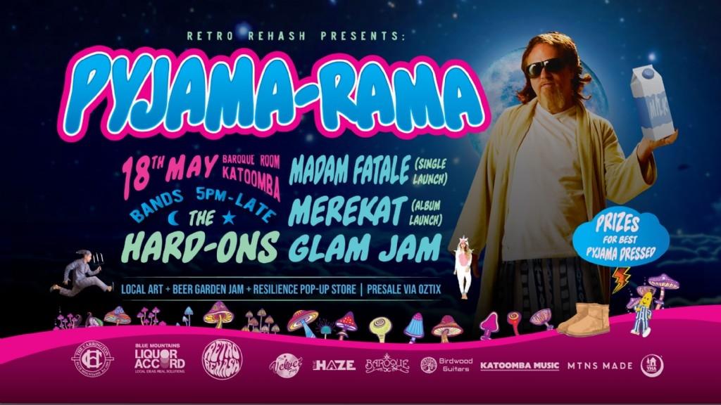 Pyjama RAMA Pyjama PARTY (Feat. The Hard-Ons)