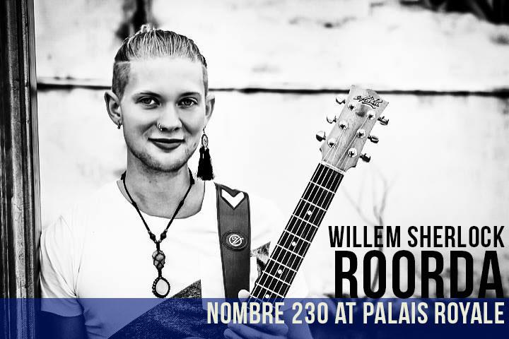 Willem Sherlock Roorda | Nombre 230 at Palais Royale