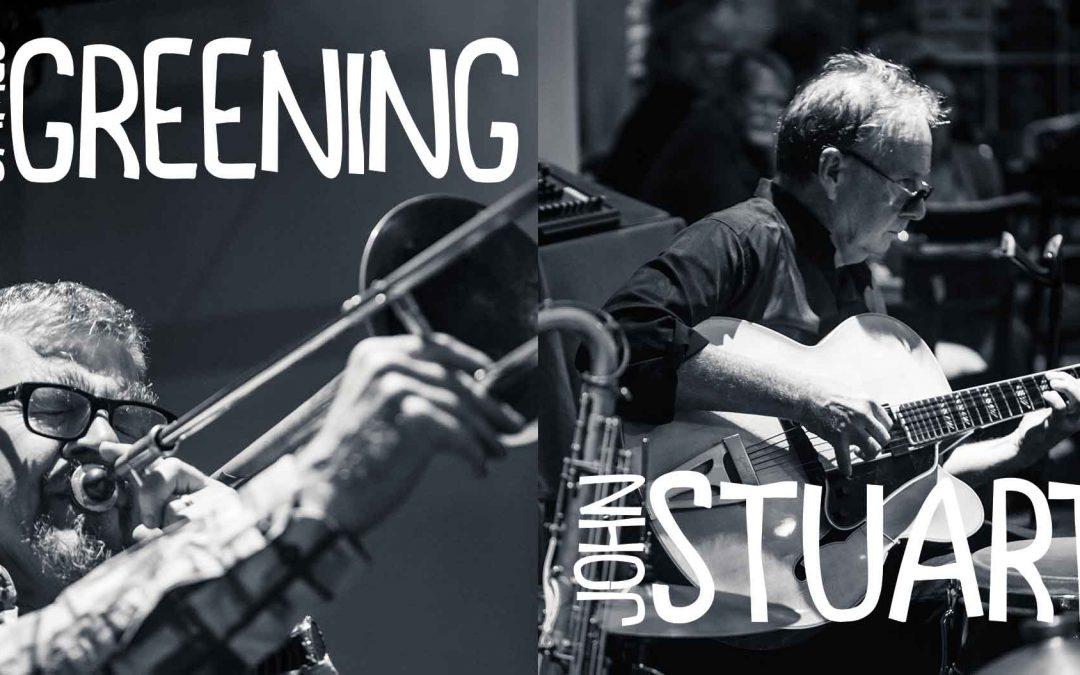 James Greening & John Stuart: Friday Night Jazz | Hotel Blue