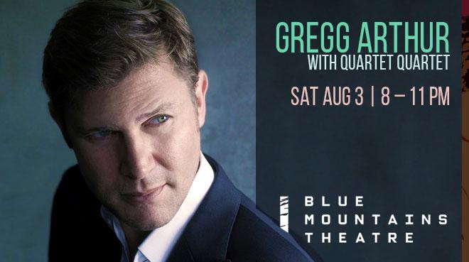Gregg Arthur with Quartet Quartet   Blue Mountains Theatre and Community Hub