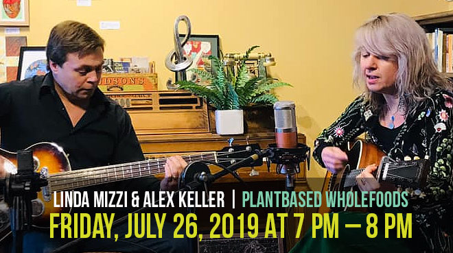 Linda Mizzi with Alex Keller |  Plantbased Wholefoods