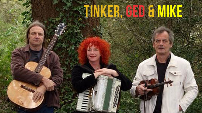 Tinker, Ged & Mike | The Old City Bank