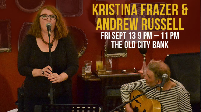 Kristina Frazer & Andrew Russell | The Old City Bank