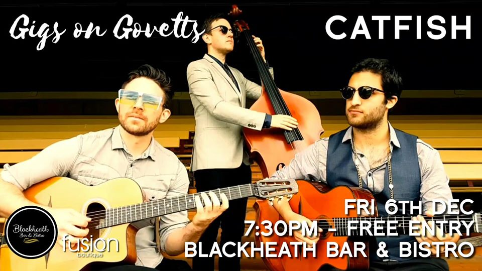 Gigs on Govetts – Catfish (Melbourne) | Blackheath Bar & Bistro
