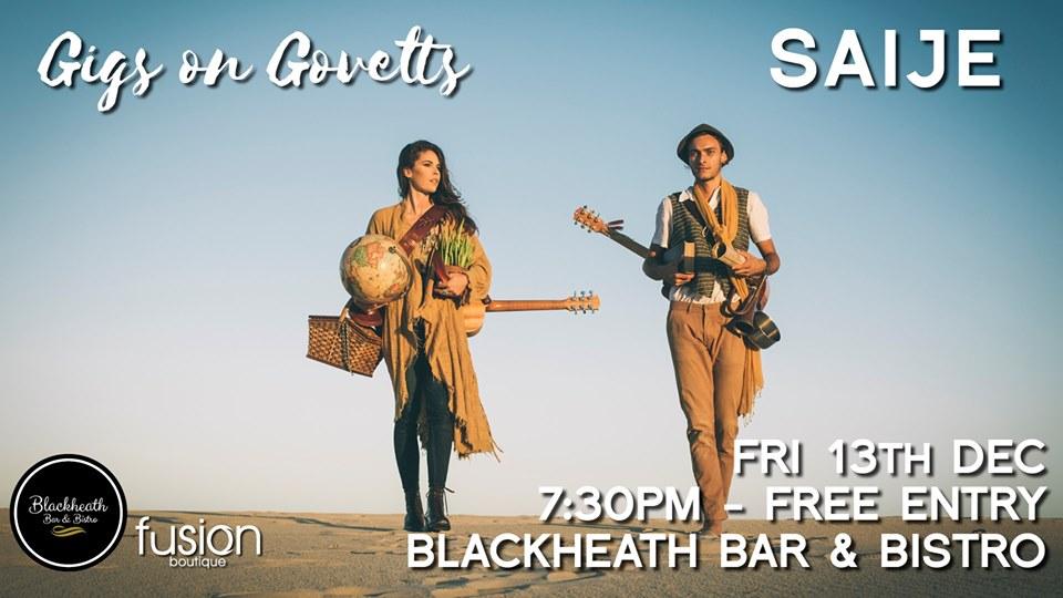 Gigs on Govetts – SAIJE (Bellingen) | Blackheath Bar & Bistro