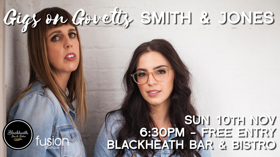 Gigs on Govetts – Smith & Jones (Bathurst) | Blackheath Bar & Bistro