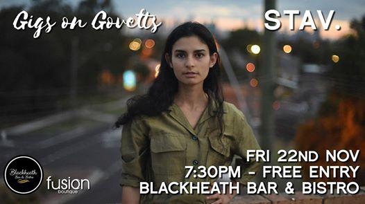 Gigs on Govetts – STAV. (Melbourne) | Blackheath Bar & Bistro
