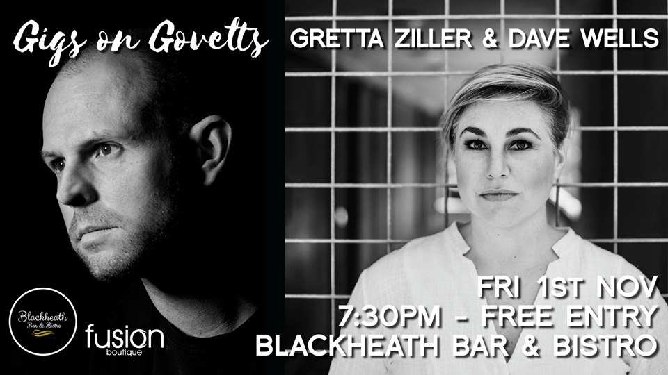 Gigs on Govetts – Gretta Ziller & Dave Wells | Blackheath Bar & Bistro