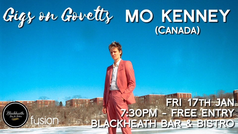 Gigs on Govetts – MO Kenney (Canada)  | Blackheath Bar & Bistro