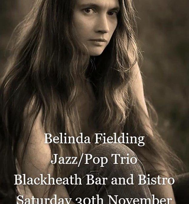 Belinda Fielding Jazz/Pop Trio | Blackheath Bar & Bistro