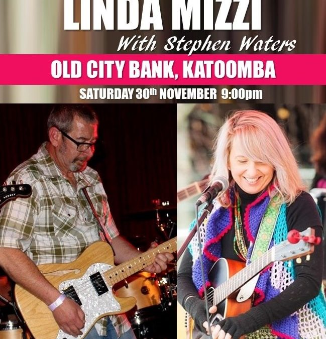 LINDA MIZZI with Stephen Waters | The Old City Bank