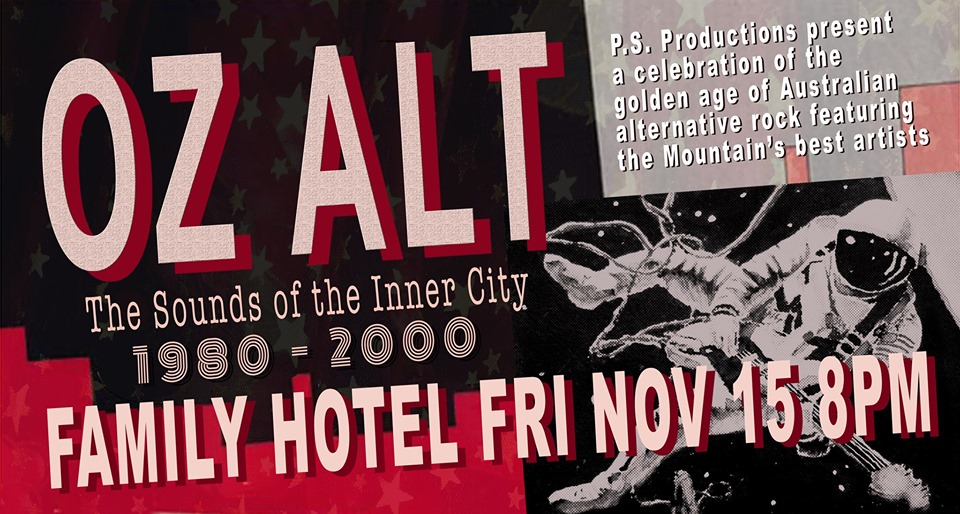 Oz Alt – The Sounds of the Inner City | Katoomba Family Hotel