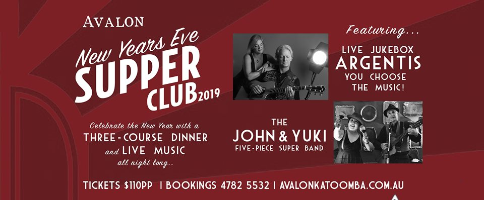 New Year's Eve Supper Club