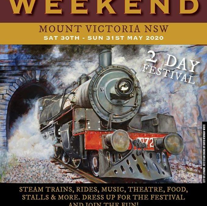 Great Train Weekend 2020 |  Mount Victoria, Blue Mountains, Australia