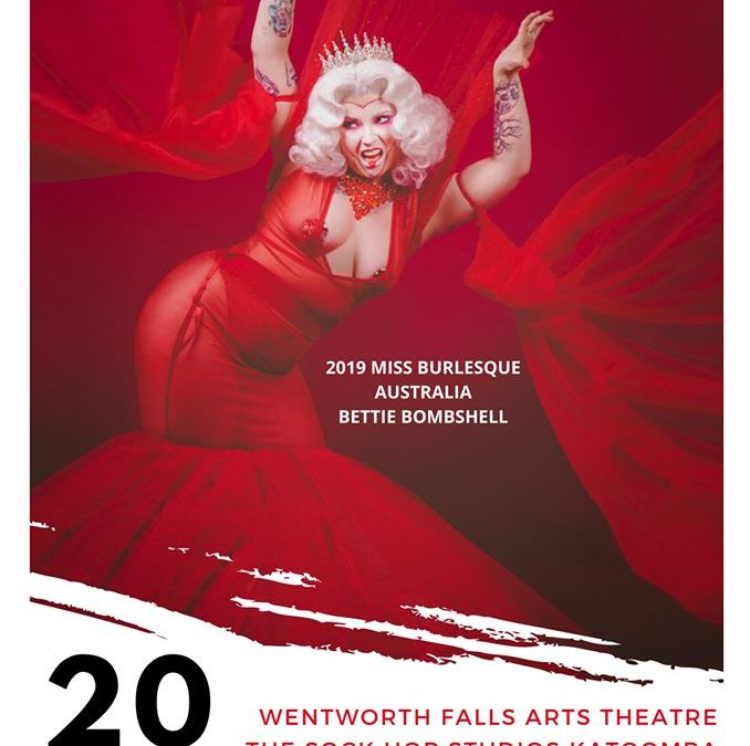 Blue Mountains Annual Burlesque Weekend | Wentworth Falls School Of Arts