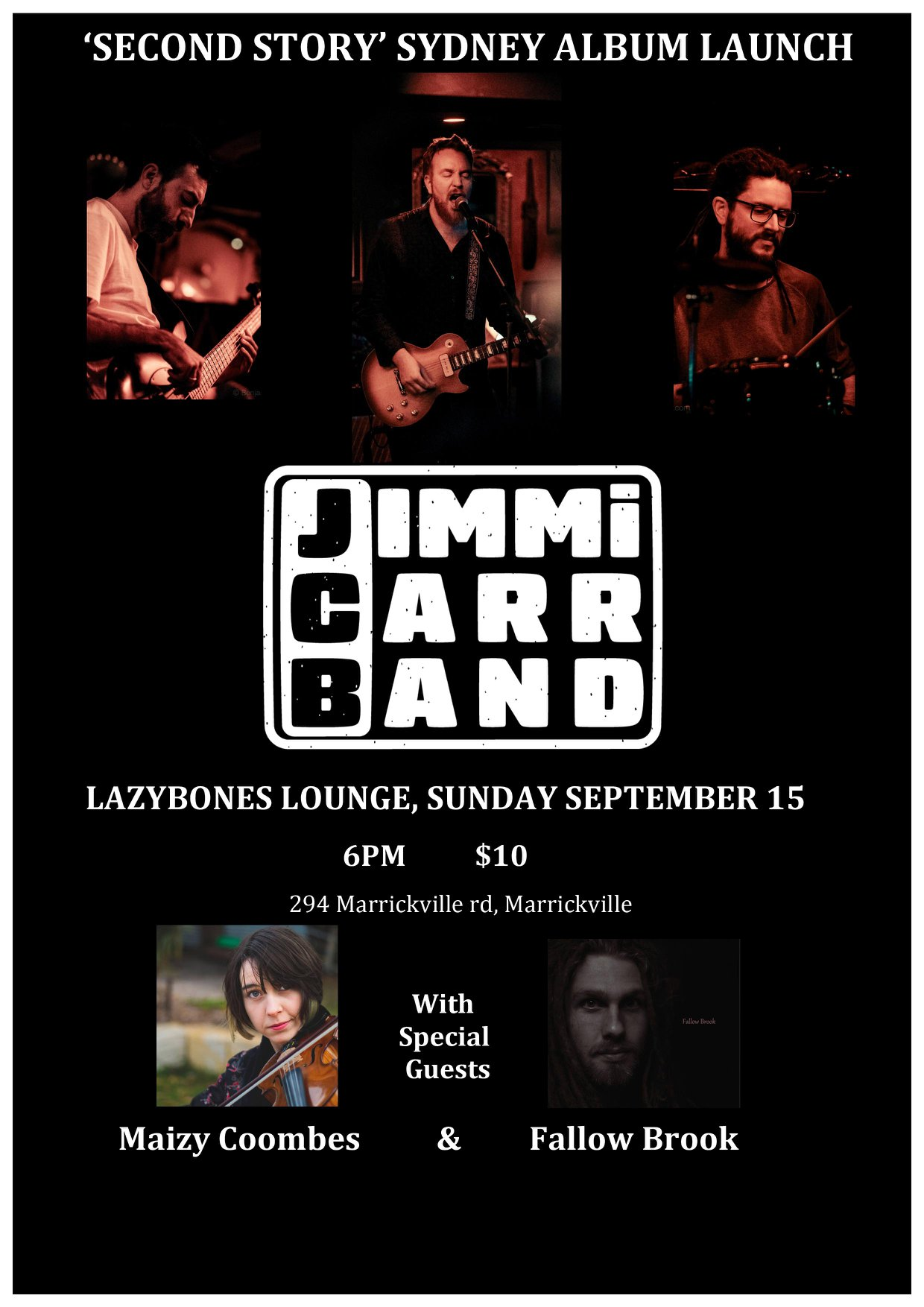 Jimmi Carr Band 08 Poster