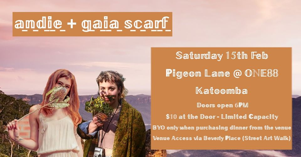 Andie + Gaia Scarf / HOME TOWN SHOW | Pigeon Lane@ONE88