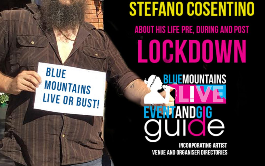 Blue Mountains Live | Interview with Stefano Cosentino