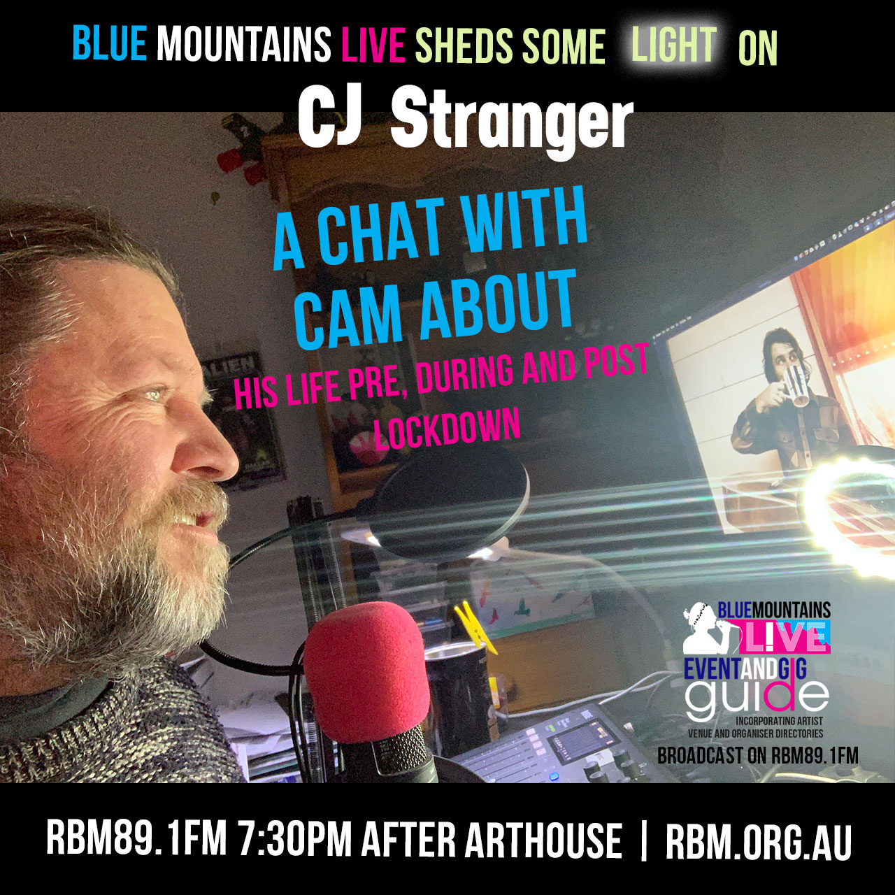 Blue Mountains Live | Interview with local musician CJ Stranger | 16th July 2020