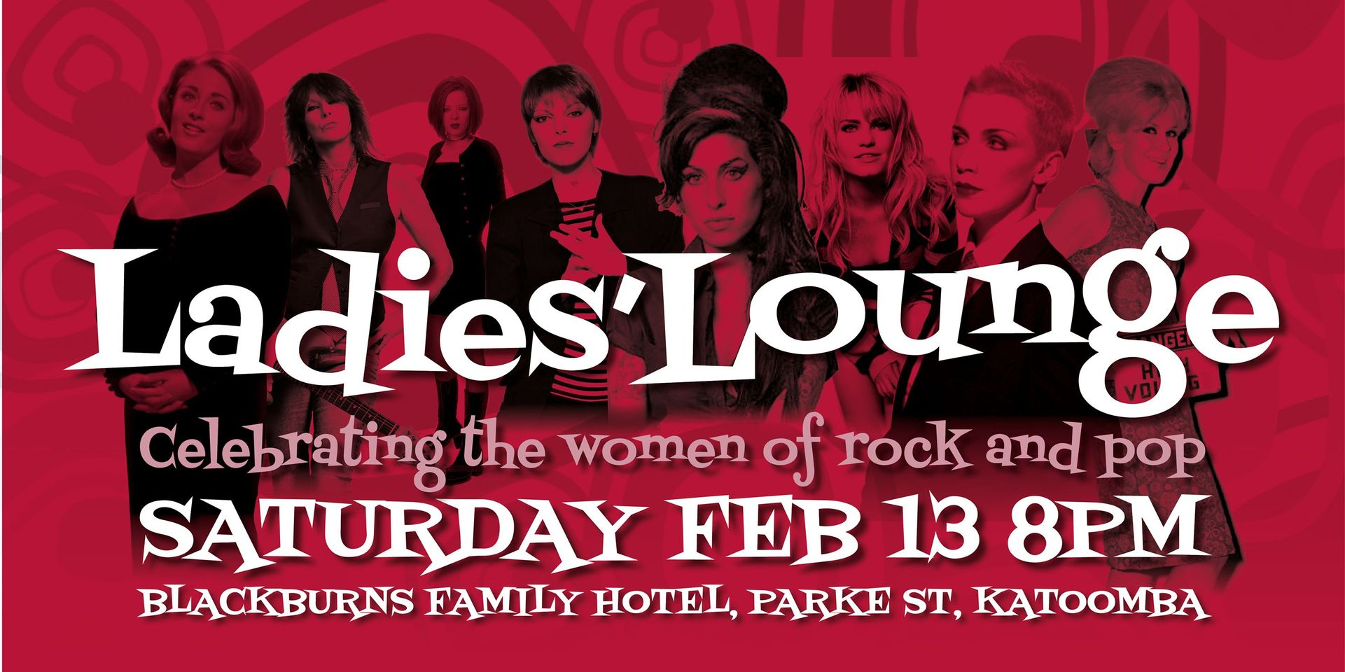 Ladies Lounge - Celebrating the Women of Rock & Pop | Katoomba Family Hotel