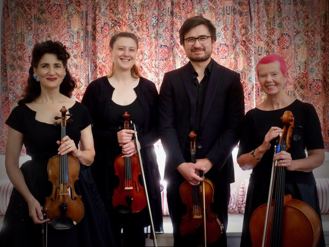THE KANIMBLA STRING QUARTET – LIVEattheGALLERY | Gang Gang Gallery