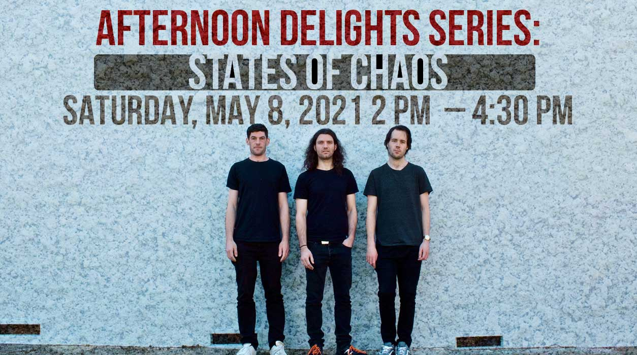 Afternoon Delights Series: States of Chaos | Afternoon Delights | Avalon Restaurant Foyer