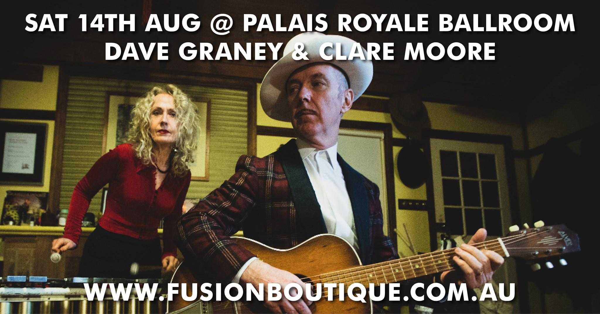 Dave Graney & Care Moore | Palais Royale